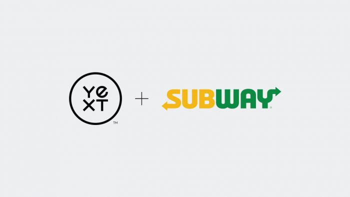 Yext + Subway logos